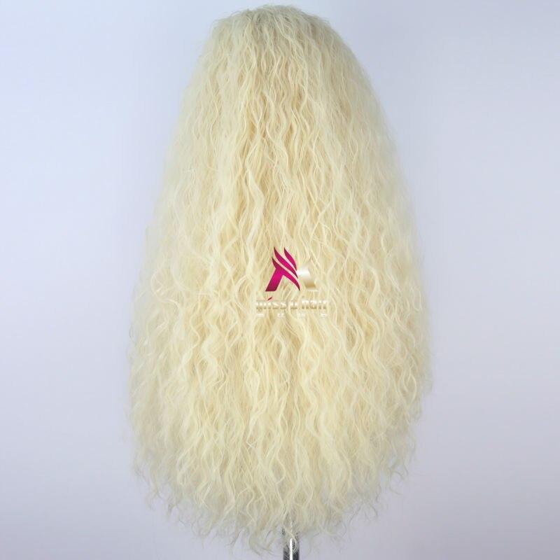 Miss u cabelo feminino longo kinky encaracolado