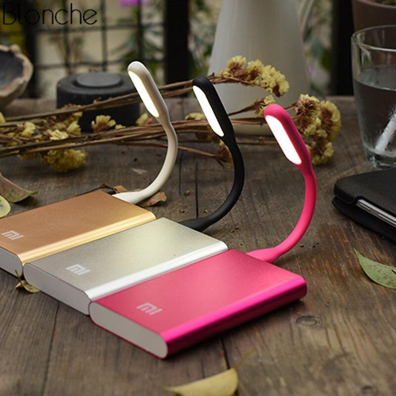 Mini USB Led Table Lamp Mobile Portable Flexible Night Light Power Lights Bright For Notebook PC 5V 1.2W Soft Reading Book Light
