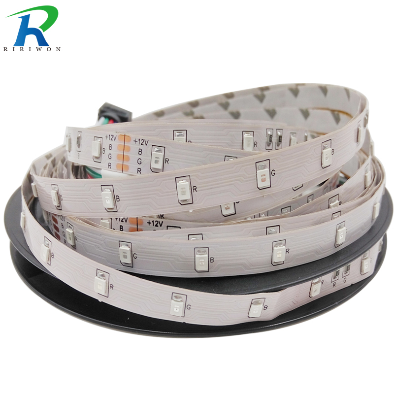 3528 RGB LED Strip Flexible Light DC12V 5M SMD2835 5m/roll RGB,White,Warm White,Red,Green,Blue , Home Decoration LED Stripe