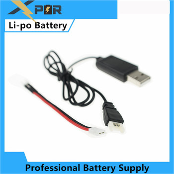 3.7V li-po Battery cable charger For Eachine E010 Furibee F36 JJRC H36 NH010 RC Quadcopter Spare Parts