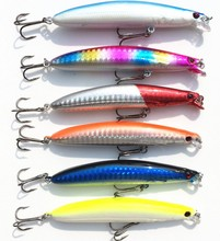 6pcs wobbler fishing lure crankbait peche fit yo zuri kosadaka rod carp bait bass minnow ima fishing tackle D019