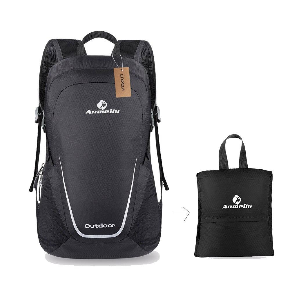 Waterproof folding dual-purpose backpack outdoor climbing bag student school bag
