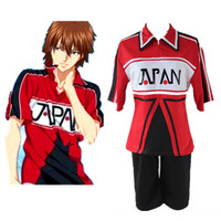 Hot Anime Prince Of Tennis Ryoma Echizen Cosplay Costumes Unisex Tennis Team Sports Uniform Suit Halloween Cosplay Fancy outfit