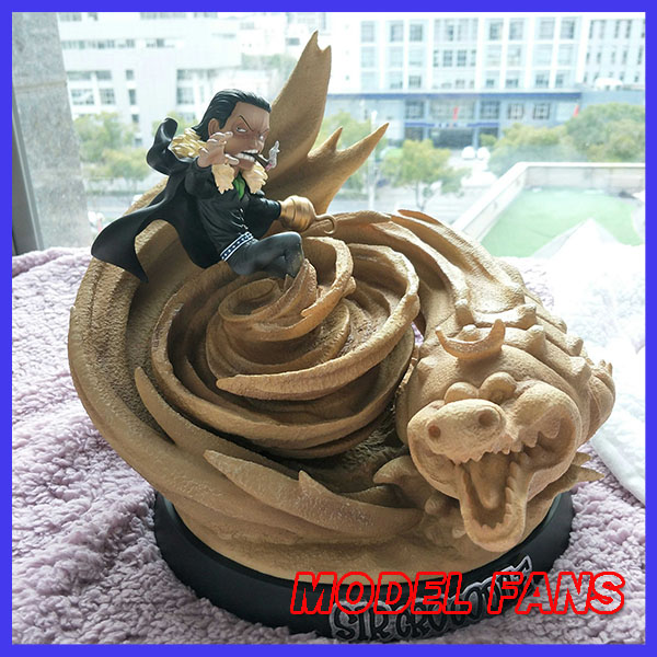 MODEL FANS INSTOCK One Piece 28cm LBS sd sir Crocodile gk resin stuate toy Figure for Collection