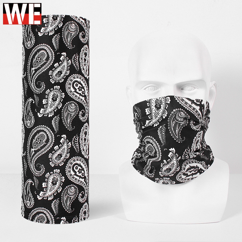 WOSAWE Motorcycle Balaclavas Sun Protection Moto Motocross Face Mask Outdoor Sports Mtb Cycling Ski Neck Scarf Face Shield