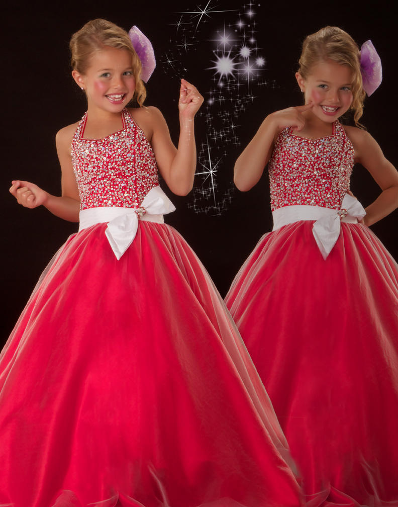 Popular Pageant Dresses for Girls Size 10-Buy Cheap Pageant ...