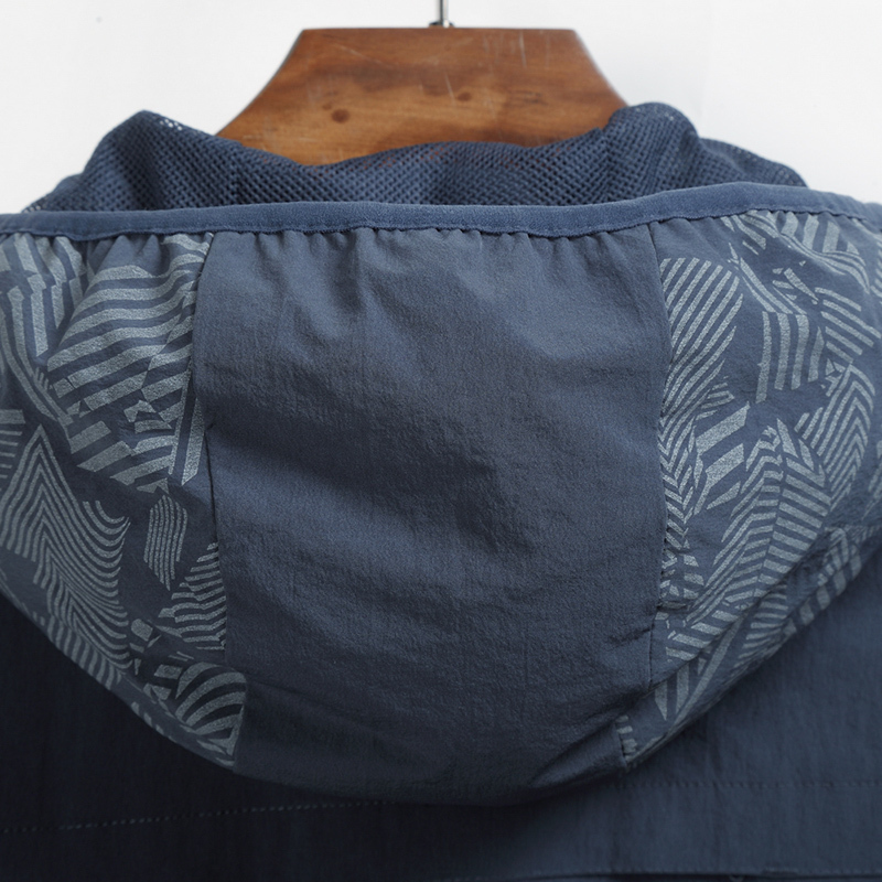 gray Marque De Vêtements Coupe Peau Imperméable Séchage vent Plus Ultra Manteaux Vestes Hommes Rapide 10xl Nouveaux Occasionnel Taille léger À Black AdqURgTx
