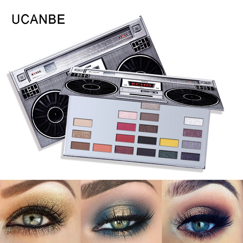Eyeshadow Makeup Palette Shimmer Matte Echo 20 Colors