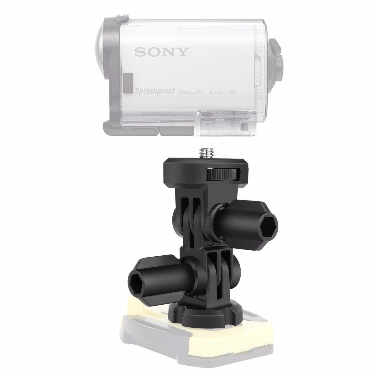 EACHSHOT DZ-AMK1 Three-way Adjustable Pivot Arm Kit Assembly for Sony action cam HDR-AS200V AS100V AS30V AS20V AZ1 FDR-X1000VR