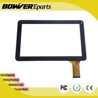 + עבור 10.1 אינץ Allwinner A20 אנדרואיד 4.2 Dualcore SF-K1001 Tablet זכוכית digitizer פנל מסך מגע