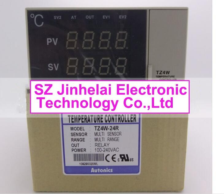 TZ4W-24R New and original AUTONICS 100-240VAC Temperature controller tzn4h 24r new and original autonics ac100 240v temperature controller