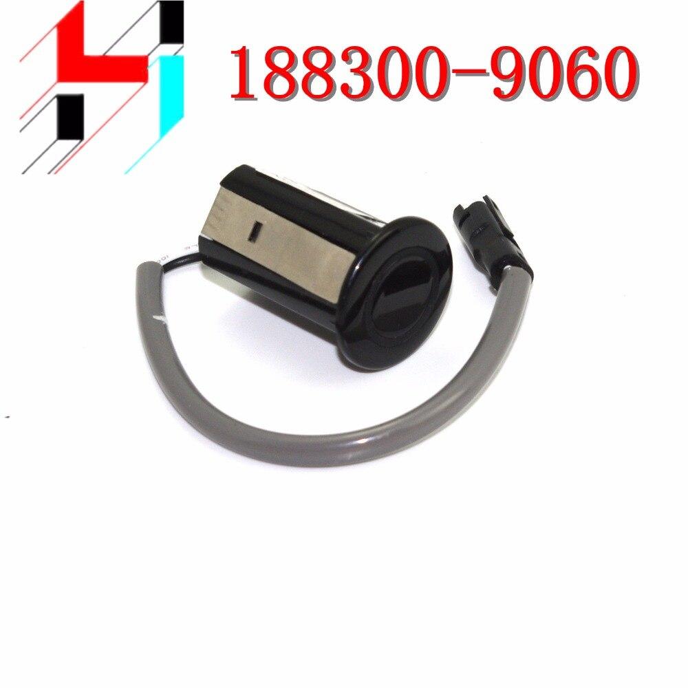 PZ362-00201-C0 PDC Parking Sensor Bumper Reverse Assist for Camry 30/40 RX 188300-9060 Black Silvery white