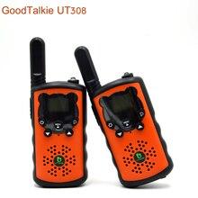 2 unids/lote UT308 walkie talkie backpacker radio de dos vías al aire libre senderismo intercomunicador de alta potencia