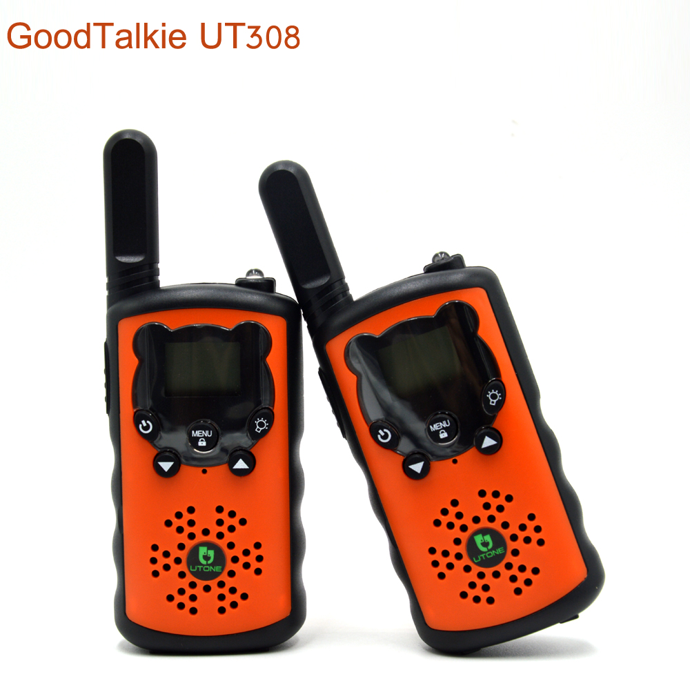 2pcs/lot UT308 walkie talkie backpacker two way radio outdoor hiking intercom high power-in Walkie Talkie from Cellphones & Telecommunications