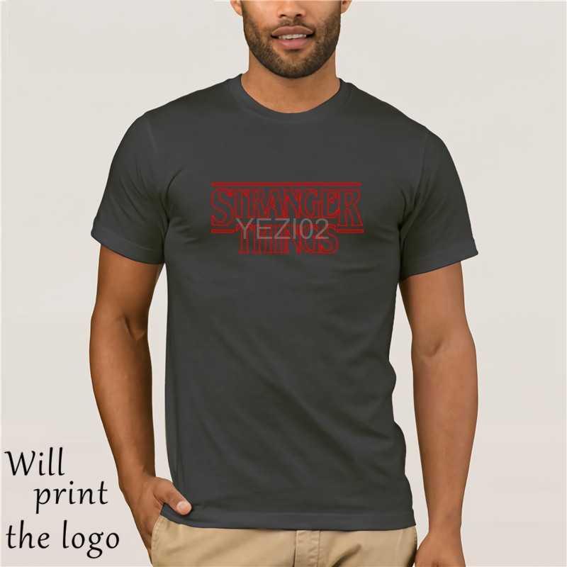 Горячая Распродажа странные вещи футболка Летняя футболка мужская хип-хоп starnger вещи футболка