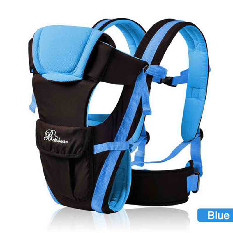 blue carry pack