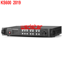 KYSATR KS600 LED וידאו Scaler מעבד 1920*1200 תמיכה 2 שליחת כרטיסי DVI/VGA/HDMI LED וידאו קיר בקר 2019 חדש עיצוב