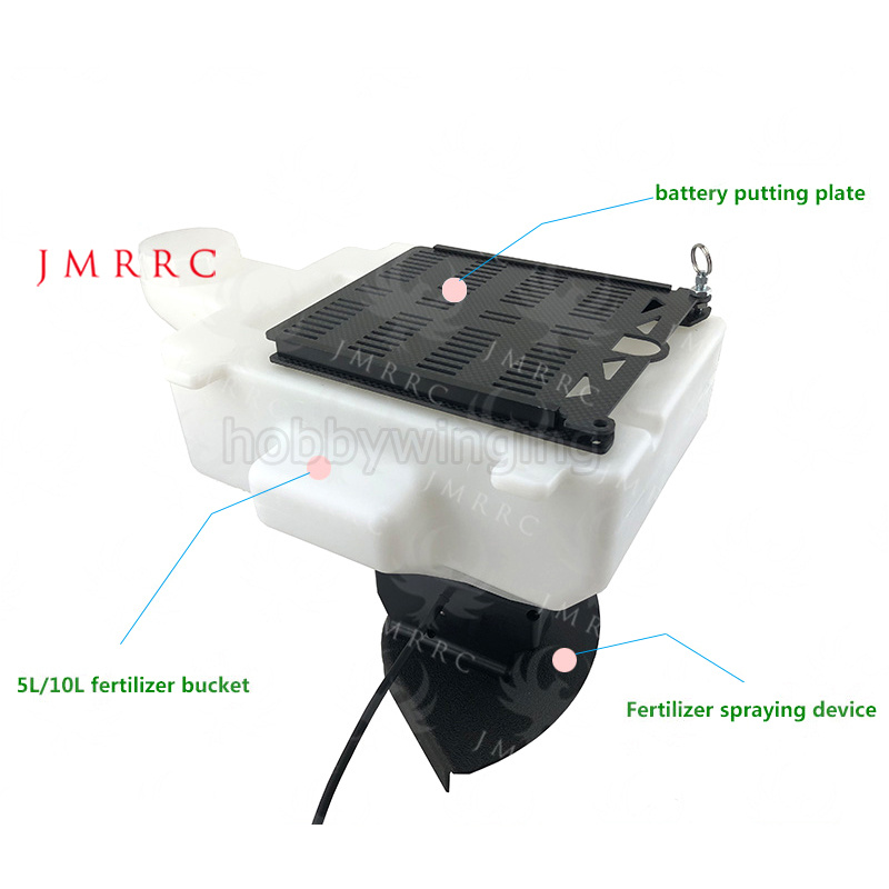Agriculture drone Fertilizer/Seed Spraying Device sowing drone spreading fertilizer drone JMRRC