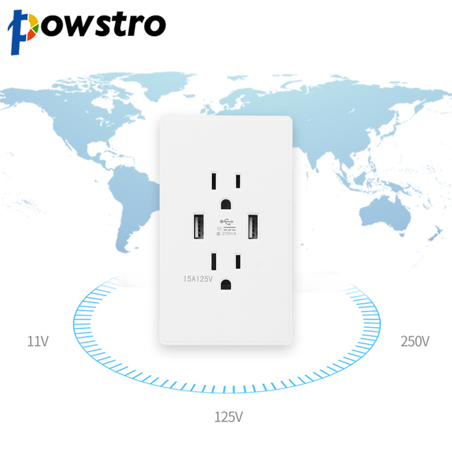 Powstro Outlet Anti Fire Level 945VB Wall Outlets Electrical ...