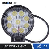 LED Work Lamp 27W Waterproof LED Tractor Work Light 12V LED Work Light Offroad SUV 1980