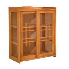 Wooden Small Cupboards Kitchen Wall Mounted Sideboards Modern Bowl Home Tea  Cabinet Simple Cabinets(