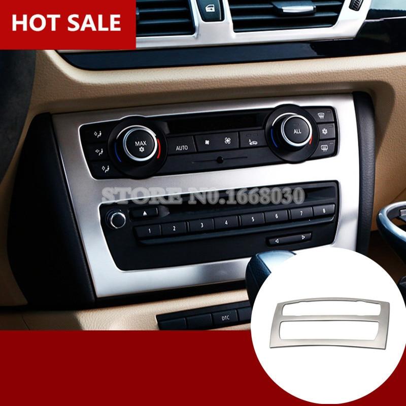 2015 Bmw X1 Interior: Interior Center Console CD Panel Trim Cover For BMW X1 E84