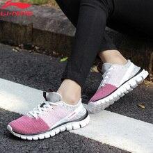 Li-Ning/женская спортивная обувь для быстрого тренировок, 24 часа, с подкладкой, дышащая спортивная обувь, светильник, кроссовки AFHN026 YXX018