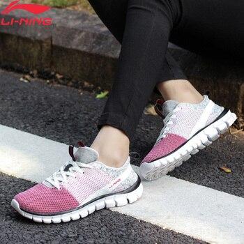 لى نينغ النساء 24H الذكية أحذية تدريب سريعة بطانة لى نينغ تنفس أحذية رياضية خفيفة الوزن أحذية رياضية AFHN026 YXX018