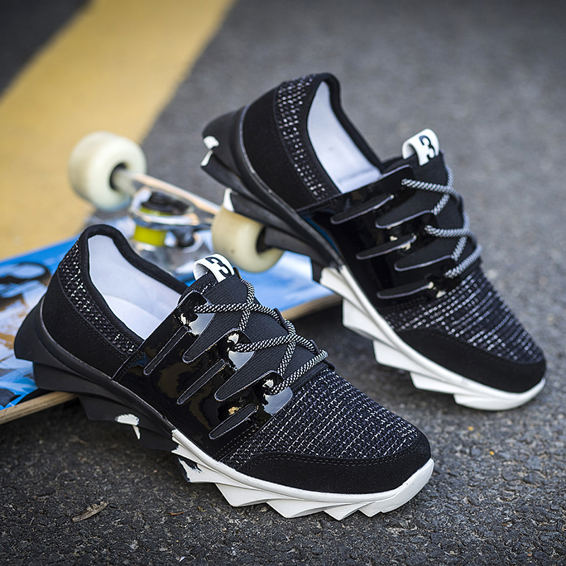 2016 New Arrival Breathable Air Mesh Men s Casual Shoes Fashion Style For Spring Summer With