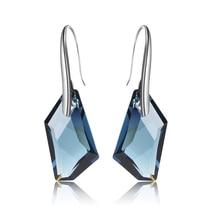 100% Cristales Originales de Swarovski pendientes de moda caliente bueno para año Nuevo Regalo del día de madre