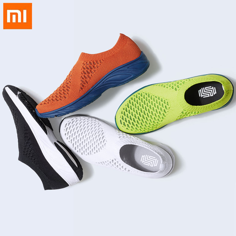Xiaomi GTS Mesh Casual Shoes Lightweight Knitting Upper Cool Comfortable Fishnet Walking Shoes Men Women Breathable Sneakers