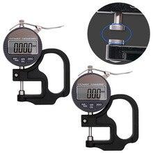 0,001 мм электронный толщиномер 10 мм Цифровой измеритель толщина микрометра тестер с RS232 выход данных
