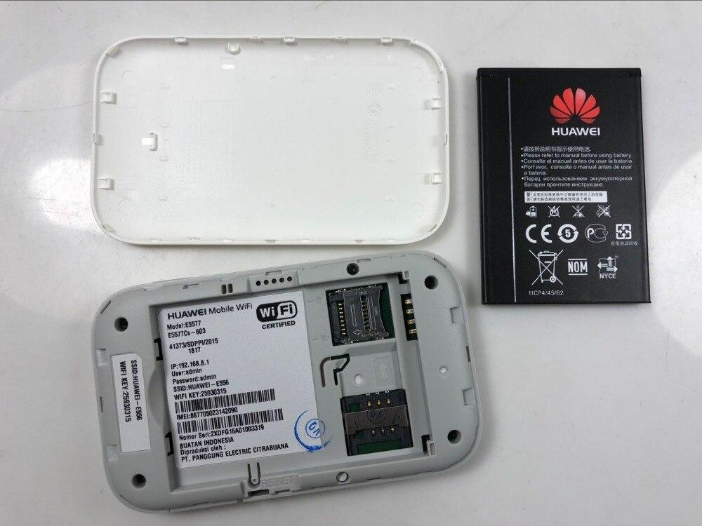 US $69 9 |Unlocked Huawei E5577 4G LTE Cat4 e5577cs 603 Mobile Hotspot  Wireless Router wifi pocket mifi dongle PK e3276 e5776 e5577c e5573-in  3G/4G