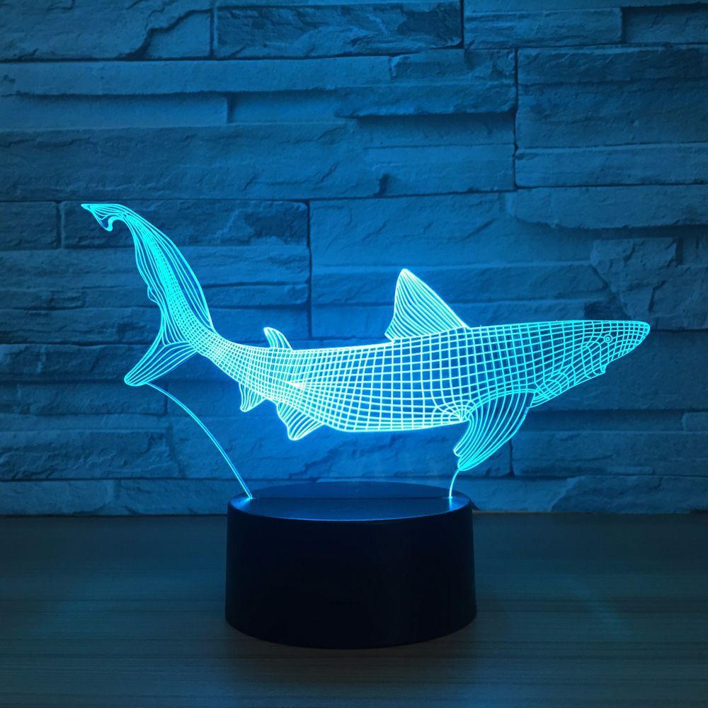 New Shark 3D LED…