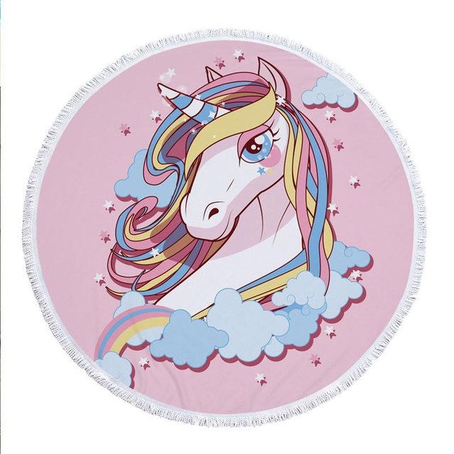 Toalla de algod/ón linomo Toalla para ni/ños dise/ño de Unicornio hippotamus y Sirena ni/ñas Toalla de Cara Toalla de Mano ni/ños y Adultos