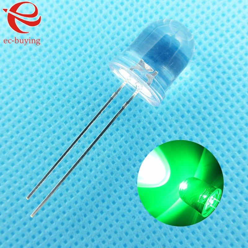 each 10pcs LED Assortment Kit 5mm Red // Green // Yellow,Normal brightnes 30pcs