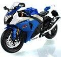 17 cm Junji 1:12 Juguetes Modelo de Motocicleta GSX R1000 K9 Diecast Aleación Vehículos de Brinquedos Juguetes Regalos de Los Niños Modelos de Colección