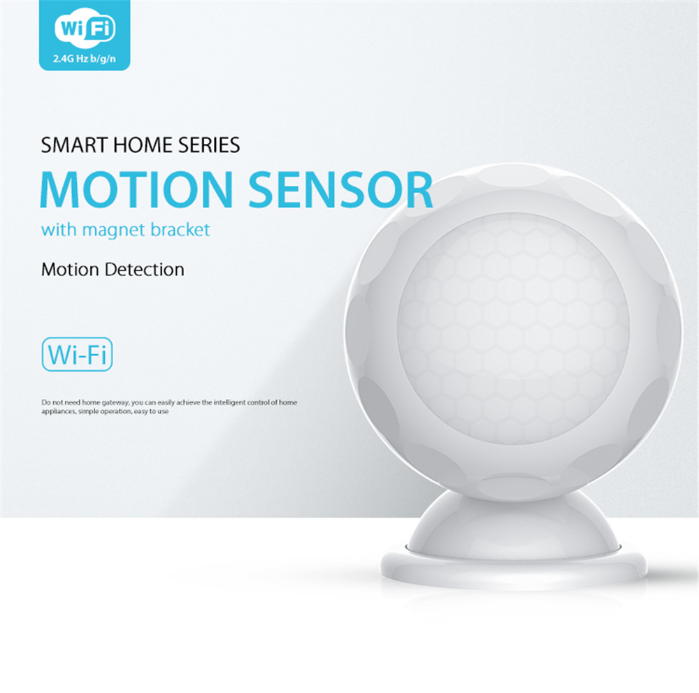 Wifi Intelligent Motion Sensor Light Measuring Device Temperature Home Automation Alarm System Motion Sensor EU 868.4MHZ
