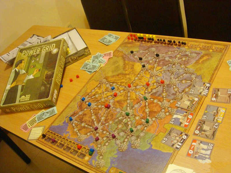 Detail Feedback Questions about Power Grid Board Game English ...