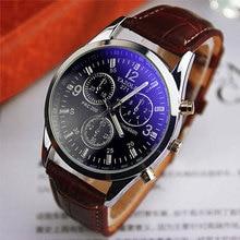 Yazole Brand Quartz Watch Men New Fashion Back Light Waterpr
