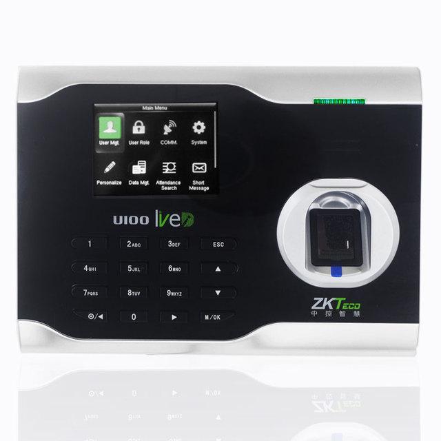 Mitarbeiter Arbeitszeit Teilnahme Linux System Freie Software ZKTeco U100 Biometrische Time Clock Finger Print Teilnahme System