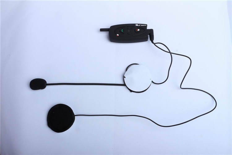 500M Wireless Bluetooth Motorcycle Helmet Intercom for 2 Riders Interphone Earphone Headset 1PcsSet (11)