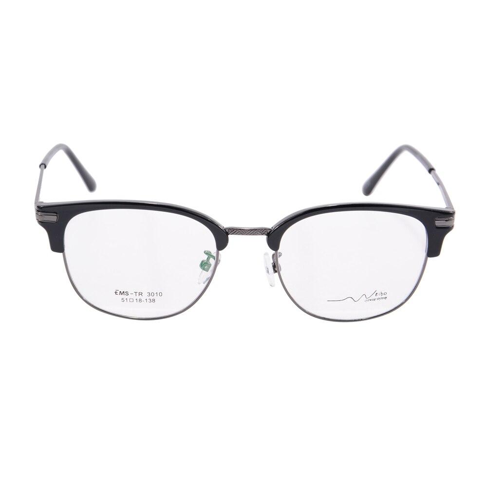 semi rimless frame round women eyeglass frame eyewear fashion new ...