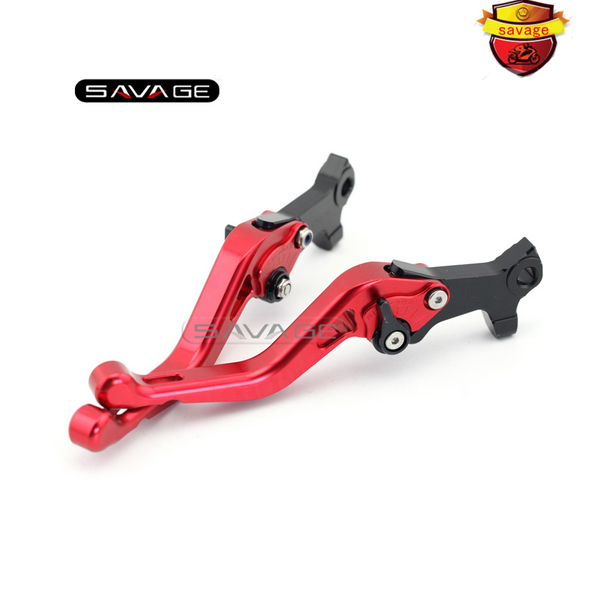 ФОТО For GILERA/PIAGGIO DNA 50/GP Experience/ ICE 50 Red Motorcycle Aluminum Adjustable Short Left Right Brake Levers