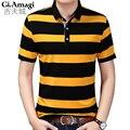 High quality brand men polo shirt new summer casual striped Quick-drying men's polo  polo shirt polo ralp men camisa