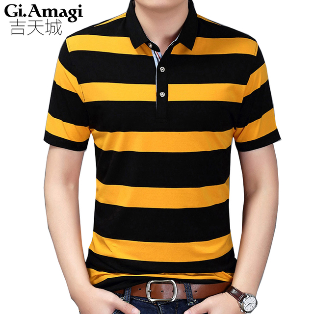 High quality brand men polo shirt new summer casual striped Quick-drying men's polo  polo shirt polo ralp men camisa