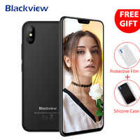 Blackview A30 3G Dual Sim Smartphone 5.5 Inch Android 8.1 19:9 Full Screen Face ID Mobile Phone 2+16 Quad Core Cellphone 2500mAh