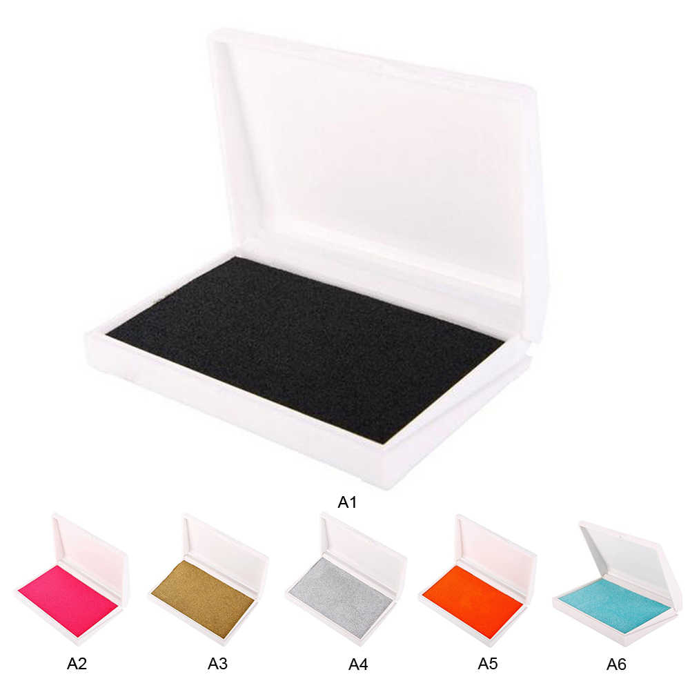 Creative เด็กของที่ระลึกทารกรอยเท้า Handprint Kit Hand Footprint ทำให้ทารกพิมพ์หมึก Pad ที่น่าจดจำของขวัญ