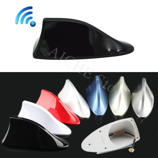 US $4 58 8% OFF|Car fm radio fin antenna toppers amplifier Accessories for  Toyota Yaris hilux avensis prius corolla aygo auris rav4 celica-in Aerials