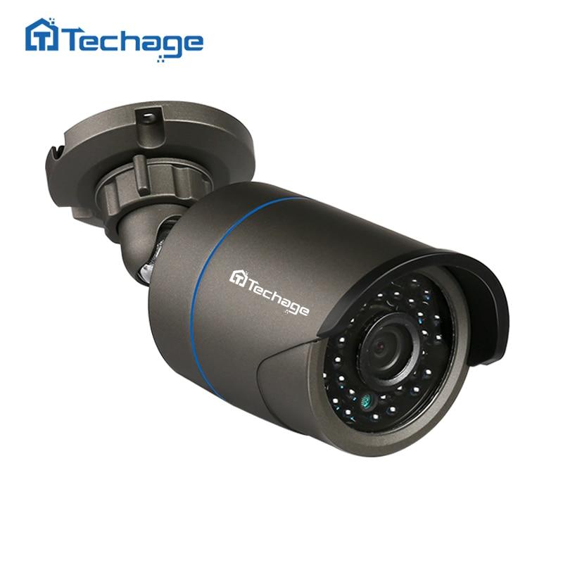 bilder für Techage FULL HD Im Freien Wasserdichte CCTV-IP-KAMERA 720 P 960 P 1080 P 2MP P2P Onvif IR Nachtsicht-gewehrkugel Sicherheitsüberwachung IPC